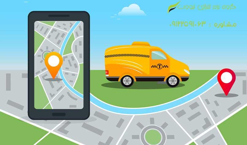 طراحی وب سایت تاکسی آنلاین