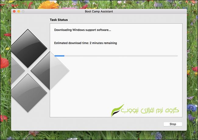 آموزش نصب ویندوز 10 بر روی مک
