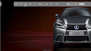 طراحی سایت طراحی سایت خودرو لکسس